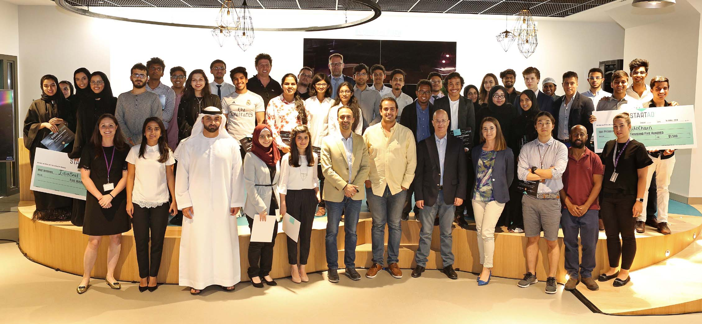UAE college students in the exciting world of entrepreneurship