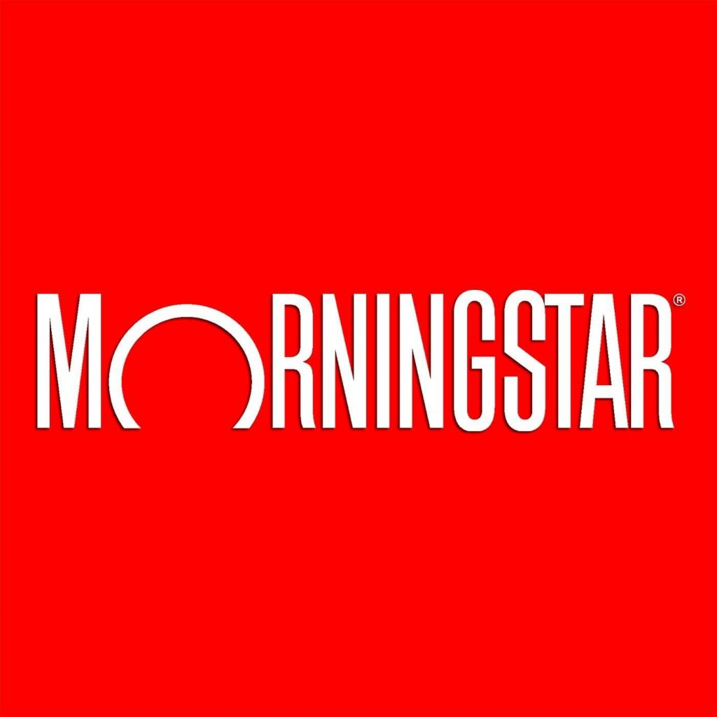 morningstar with red background